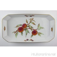 Royal Worcester China EVESHAM GOLD Lasagna(s) EXCELLENT - B0791HBPM8