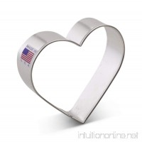 Ann Clark Heart Cookie Cutter - 3.25 Inches - Tin Plated Steel - B00KJ8LBIS