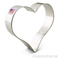 Ann Clark Heart Cookie Cutter - 4 Inches - Tin Plated Steel - B01AYK7JNQ