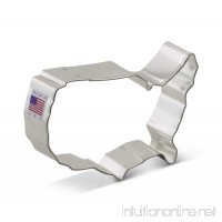Ann Clark USA Map Cookie Cutter - 4 Inches - Tin Plated Steel - B00KJ8KZRG