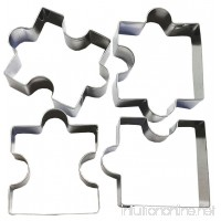 Gorse Puzzle Pieces Stainless steel Fondant Cutter Cookie Cutter Cake Art Birthday Party Decoration Mold - B071VL22H9