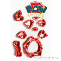 Paw Patrol Logo Cookie Cutter Set  choose 2  3  4  5.5  7  9  11 by Hiding - place (3 inches) - B07BXR4PCY
