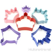R&M International 1801 Princess Crown Cookie Cutters Assorted Sizes 6-Piece Set - B0080I43Q6