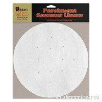 Helen's Asian Kitchen Perforated Parchment Bamboo Steamer Liners 20 Count - B000UF0KXM