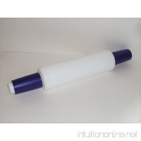 Tupperware Rolling Pin in Blue and White - B007WNU9GI