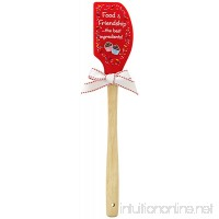 Brownlow Gifts Food and Friendship Silicone Spatula - B00C4UIF9C