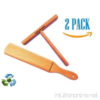 "Crepe Spreader - Crepe Spatula - Crepe Turner - Bamboo Crepe Spreader - Crepe Spatula and Spreader Set [ 6"" Spreader 