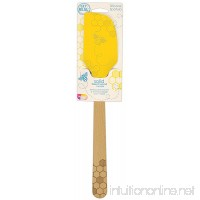 Talisman Designs 2900 Embossed and Laser Etched Bee Collection Silicone Spatula with Solid Beechwood Handle - B07DXG2JW3