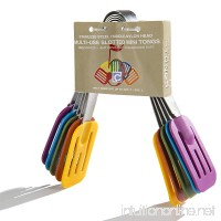 Cook's Corner 5-Piece Multi Use Slotted Mini Tong Set - B0083E8J26
