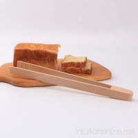 Refaxi Long Wood Wooden Food Toast Tongs Toaster Bacon Sugar Ice Tea Tong Salad 30 cm - B0787J9M5L