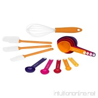 Baker's Secret 13-Piece Measuring Spoon Cup Spatula and Whisk Sweet Baking Set Multicolor - B01N7N21ZF