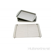 Kitchen Elements Value Pack Cookie Baking Sheets with bonus Cooling Rack - B003YC2NNI