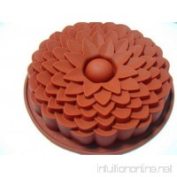 VolksRose Silicone Mould for Chocolate Jelly and Candy etc - Random colors -Flower - B01NCRLC7R