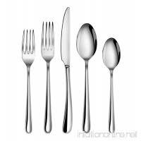 Artaste 56525 Rain II Forged 18/10 Stainless Steel Flatware 20 Piece Set  Service for 4  Silver - B01H0LD3UU