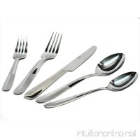 Cambridge Asher Sand 30-Piece Flatware Set  Service for 6 - B002FGT4VS
