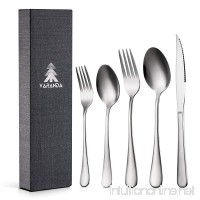 Flatware Sets Service for 4   Japanese Steel Stainless 20-Piece Cutlery Set - B078BSFKM6