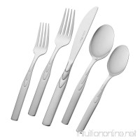 J.A. Henckels Classic Series Rapture 45-Piece Flatware Set  Service for 8 - B000FIY2NS