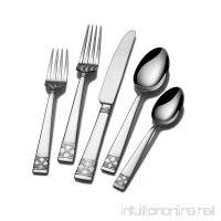 Mikasa Avalene 65-Piece Stainless Steel Flatware Set  Service for 12 - B00IITSM8W