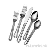 Pfaltzgraff 5049632 Pearl 80-Piece Stainless Steel Flatware Set  Service for 12 - B003N0HLAG
