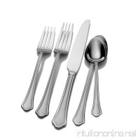 Pfaltzgraff 5077441 Capri Frost 20-Piece Stainless Steel Flatware Set  Service for 4 - B004IK822Q