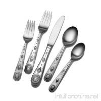 Wallace 5071126 Taos 45-Piece Stainless Steel Flatware Set Service for 8 - B003TPYA0E