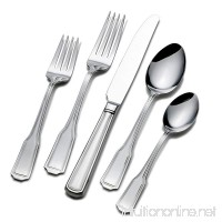Wallace 5118275 Whitney 45-Piece 18/10 Stainless Steel Flatware Set  Service for 8 - B00F1BZD9G