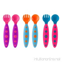Boon Modware Toddler Utensils Pink Multi - B00DFWZ8X4
