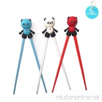 Carykon Cute Tableware Detachable Learning Training Helper Chopsticks for Kid Baby Beginner Adult (Panda) - B07DGBC9YP