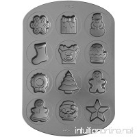Wilton Non-Stick Holiday Shapes Cookie Pan - B06Y5CD8YQ