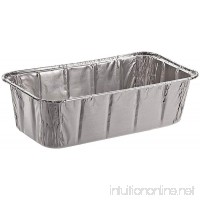 "Sherri Lynne Home Disposable Aluminum Foil 2Lb Loaf Pans and Bread Tins  Standard Size - 8.5"" X 4.5"" X 2.5""  10 Pack - B071K93F9N"