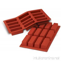 Silicone Loaf 2.37 Oz. 12 Cavities - B01FVYI6EQ