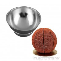 3D Sport Half Ball Sphere Cake Pan Baking Mold Bakeware Tin Kitchen Mould Tool A - B07G7N3K26