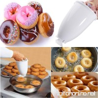 Binmer Plastic Doughnut Maker Machine Mold DIY Tool Kitchen Pastry Making Bake Ware - B07G5QFW87