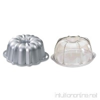 Nordic Ware Platinum Collection Original 10- to 15-Cup Bundt Pan and Deluxe Bundt Cake Keeper - B000Q4UTFQ