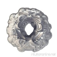 Nordic Ware Platinum Holiday Wreath Bundt Pan by Nordic Ware - B015G96XU0